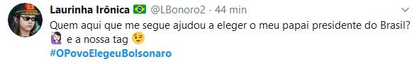 Web dá recado à esquerda: #OPovoElegeuBolsonaro