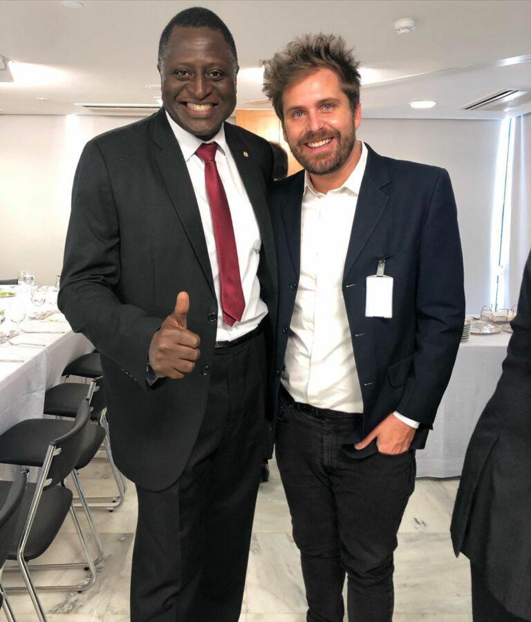 Deputado Helio Lopes e Thiago Gagliasso