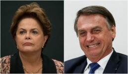 STF suspende queixa de Dilma contra Jair Bolsonaro