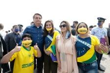 Presidente Jair Bolsonaro em Corumbá, no Mato Grosso do Sul
