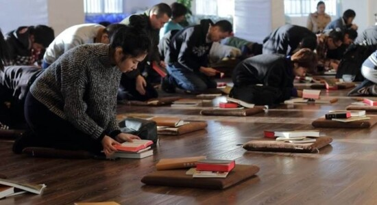Escola em igreja cristã na China
