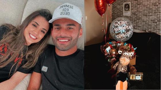 Eles já tinham namorado no passado e voltaram em 2020