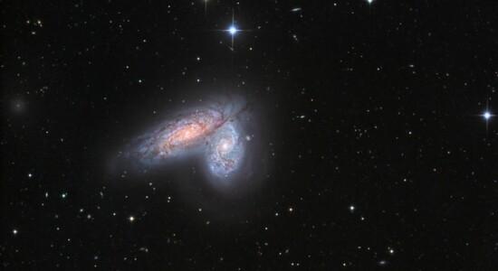 Par de galáxias ganhará novo nome a ser determinado pela Nasa