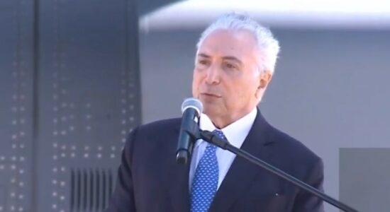 Temer agradece Bolsonaro por convite a chefiar comitiva humanitária