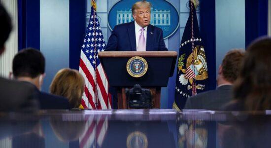 Trump detona escolha de vice na chapa de Joe Biden
