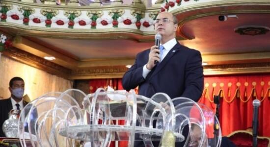 Wilson Witzel visitou culto da Assembleia de Deus Ministério Madureira