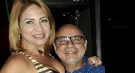 Fabrício Queiroz e a esposa Márcia