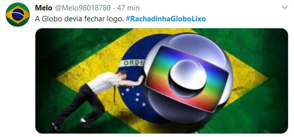 Web volta a cobrar explicações e levanta #RachadinhaGloboLixo