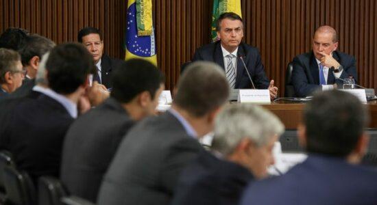 Ministros oram pela vida de Jair Bolsonaro