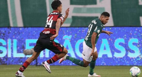 Palmeiras empata em casa com desfalcado Flamengo por 1 a 1