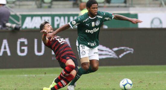 Jogo entre Flamengo e Palmeiras irá acontecer