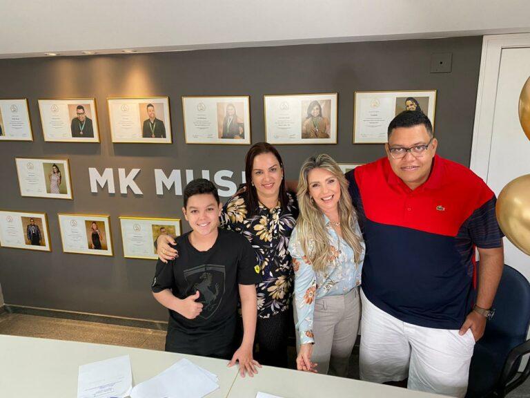 Anderson Freire renovou contrato com a MK Music
