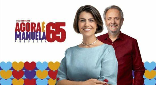 Material de campanha de Manuela DÁvila deu o que falar nas redes