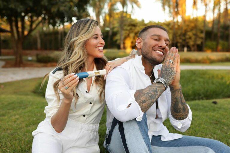 Lucas Lucco e Lorena Carvalho vão ser pais