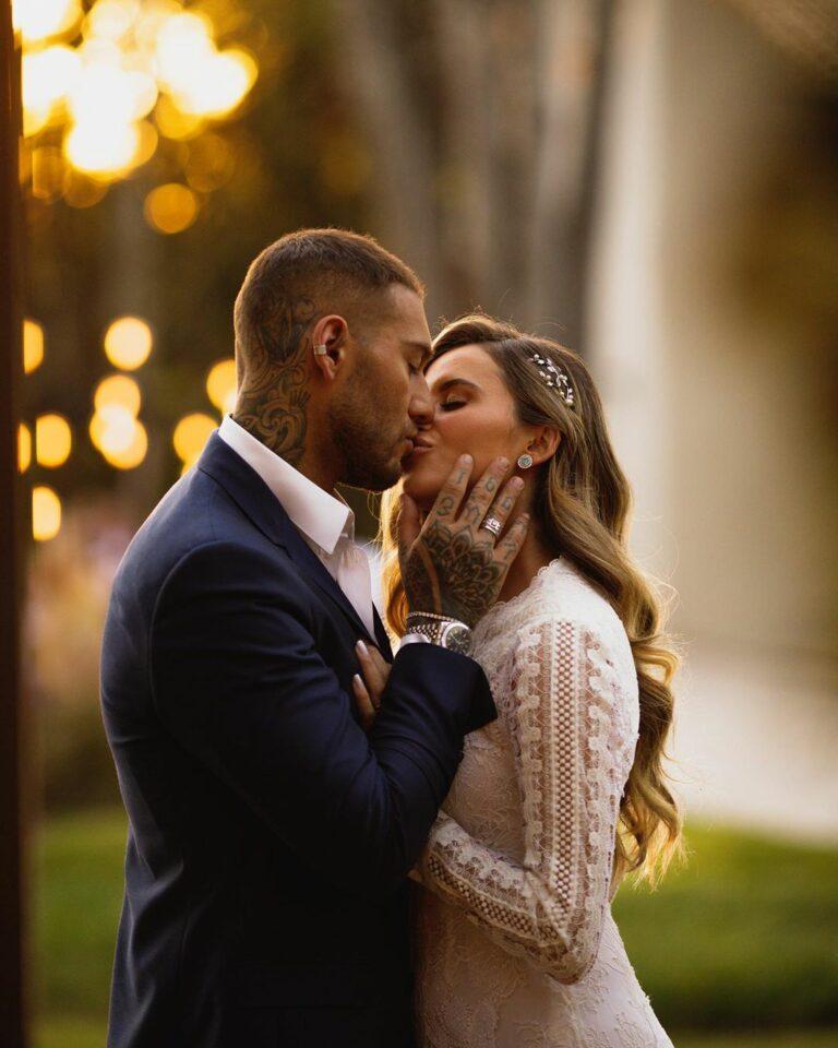 Os dois se casaram no civil em agosto deste ano