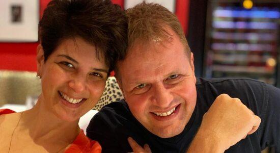 Mariana Godoy e Dalcides Biscalquin estão casados desde 2004