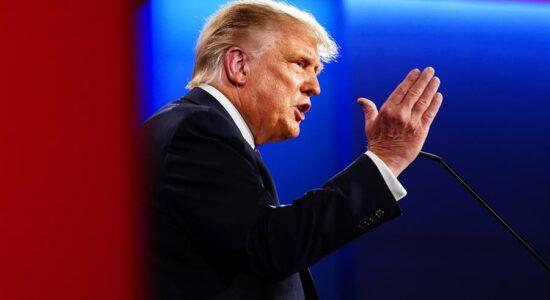 Trump debate com Joe Biden em Cleveland