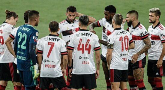 Flamengo tem 7 jogadores com Covid-19