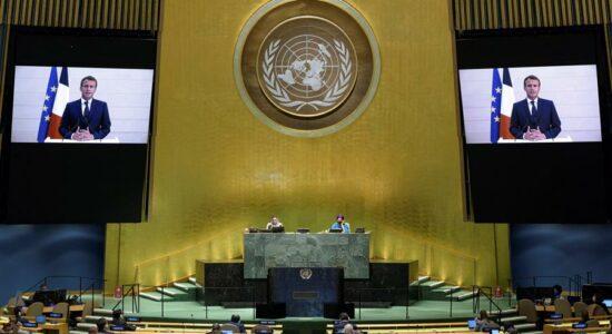 Na ONU, Macron, Erdogan e Putin criticam sanções defendidas por Trump