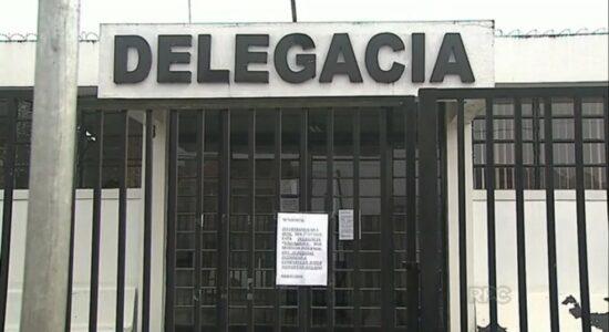 Homem foi levado para a Delegacia de Polícia Civil de Castro