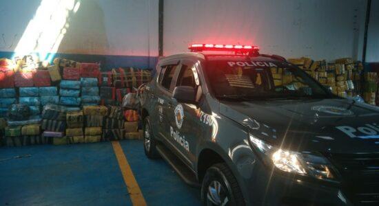 PM apreendeu cerca de 12 toneladas de maconha, em Diadema