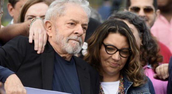 Ex-presidente Luiz Inácio Lula da Silva e Rosângela Silva