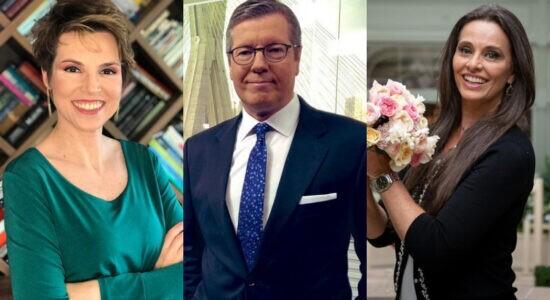 CNN Brasil: Estreia de Márcio Gomes, Gloria Vanique e Carla Vilhena será em novembro