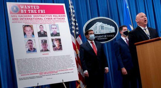 Agentes russos viram réus nos EUA por ciberataques