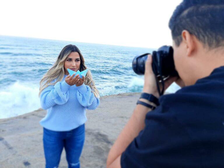 Graciele Farias grava clipe da canção Fique Firme