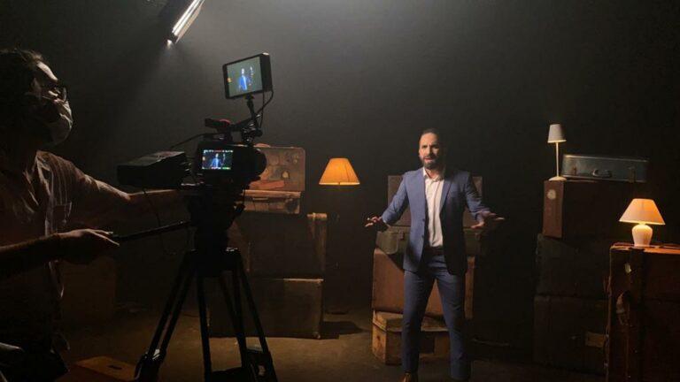 Midian e Arthur Callazans gravam clipe de Job
