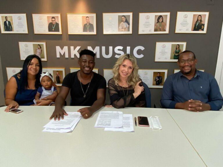 Samuel Miranda assinou contrato com a MK Music