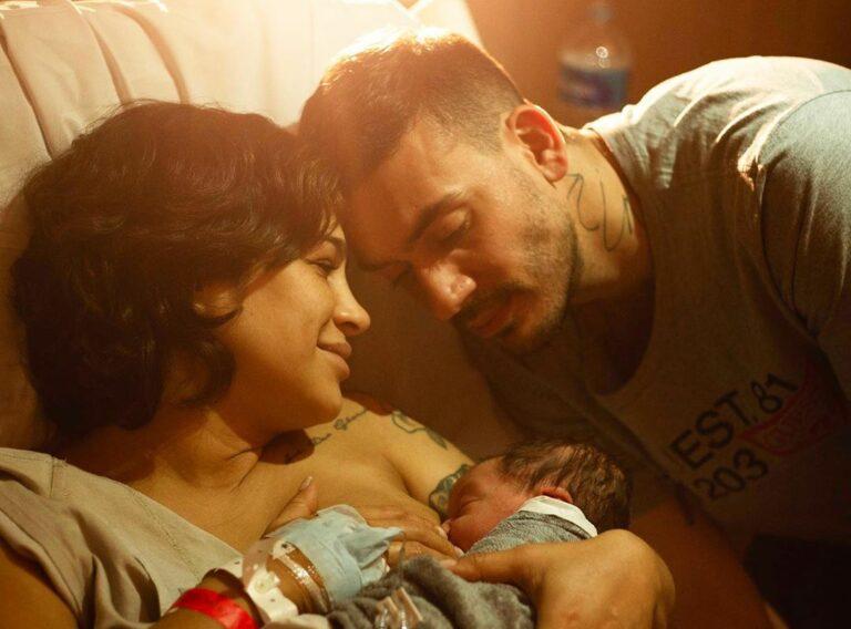 Nasce Lucca, primeiro filho de Daniela Araújo e André Nine