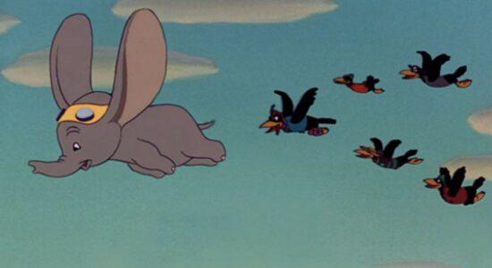 Dumbo - Os corvos