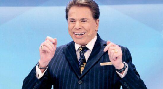 Apresentador Silvio Santos