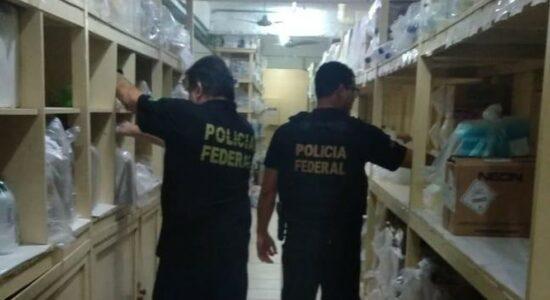 PF prende servidor por desvios de R$ 1,6 milhões da Saúde