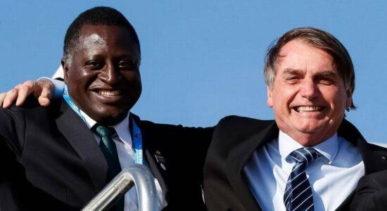 Hélio Lopes e Jair Bolsonaro