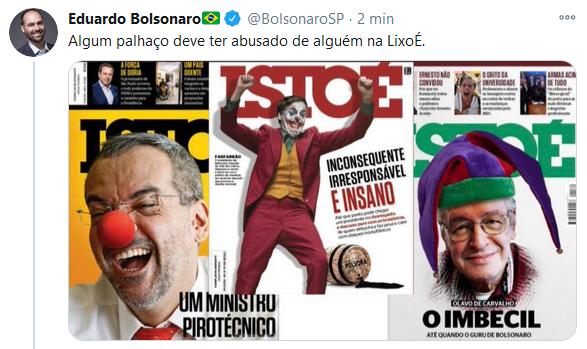 Internet debocha da IstoÉ e capa com Bolsonaro vira meme
