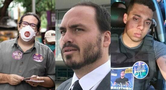 Tarcísio Motta, Carlos Bolsonaro e Gabriel Monteiro foram os mais votados na cidade
