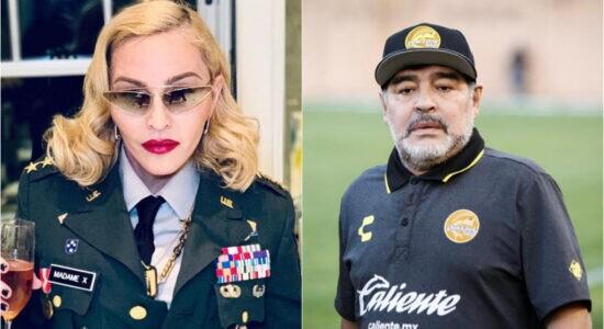 Madonna e Diego Maradona