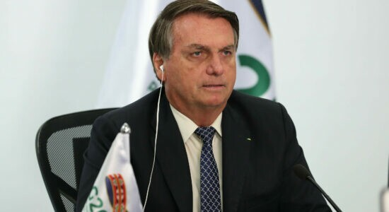 Bolsonaro acompanha reunião do G20