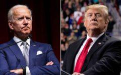 Joe Biden e Donald Trump disputaram a eleição norte-americana no início de novembro