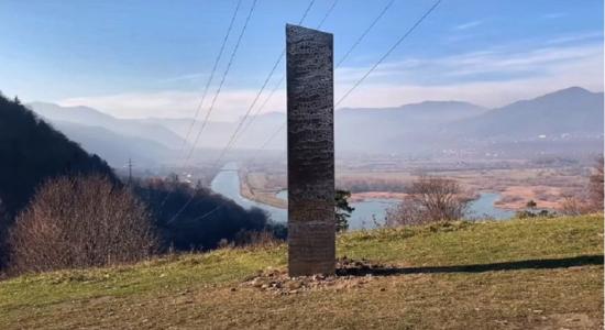 Novo monolito foi encontrado na Romênia
