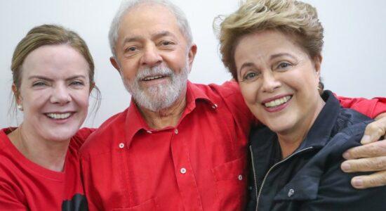 PT de Gleisi, Lula e Dilma assiste queda vertiginosa de prefeitura