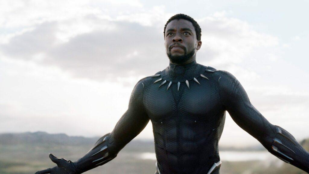 Chadwick Boseman, morto em 2020, viveu o emblemático herói Pantera Negra