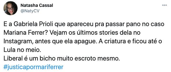Gabriela Prioli é