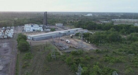 Usina termelétrica de Santana, no Amapá