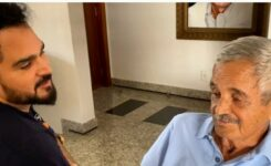 Luciano e o pai, Francisco Camargo
