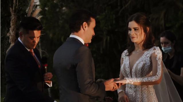 Luma Elpídio e Igor Siracusa se casam no interior em São Paulo
