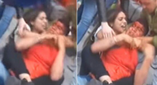 Lutadora de MMA imobiliza ladrão que roubou seu telefone