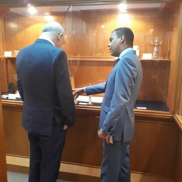 Ministro visitou o Museu da UNASP nesta sexta-feira